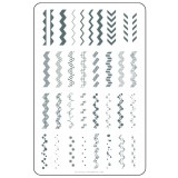 Clear Jelly Stamper - Chantel's Chevrons