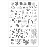 Пластина для стемпинга Clear Jelly Stamper - Delicate Garden