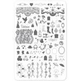 Пластина для стемпинга Clear Jelly Stamper - Suzie's Victorian Plate