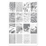 Пластина для стемпинга Clear Jelly Stamper - Texture Essentials - Urban