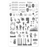 Пластина для стемпинга Clear Jelly Stamper - Wicked Halloween