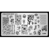 Пластина для стемпинга Creative Shop 107
