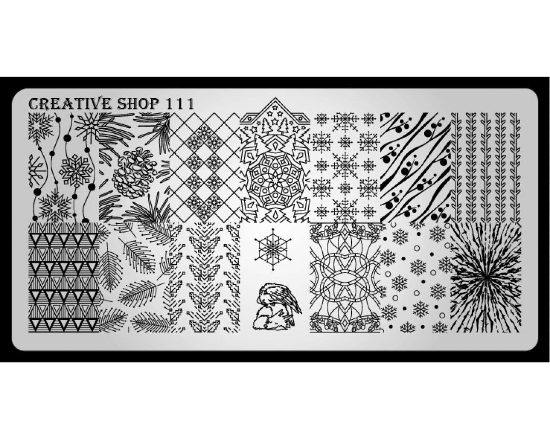 Пластина для стемпинга Creative Shop 111