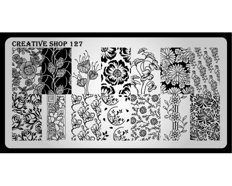 Пластина для стемпинга Creative Shop 127