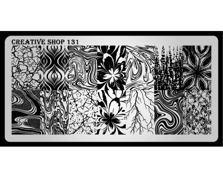 Пластина для стемпинга Creative Shop 131
