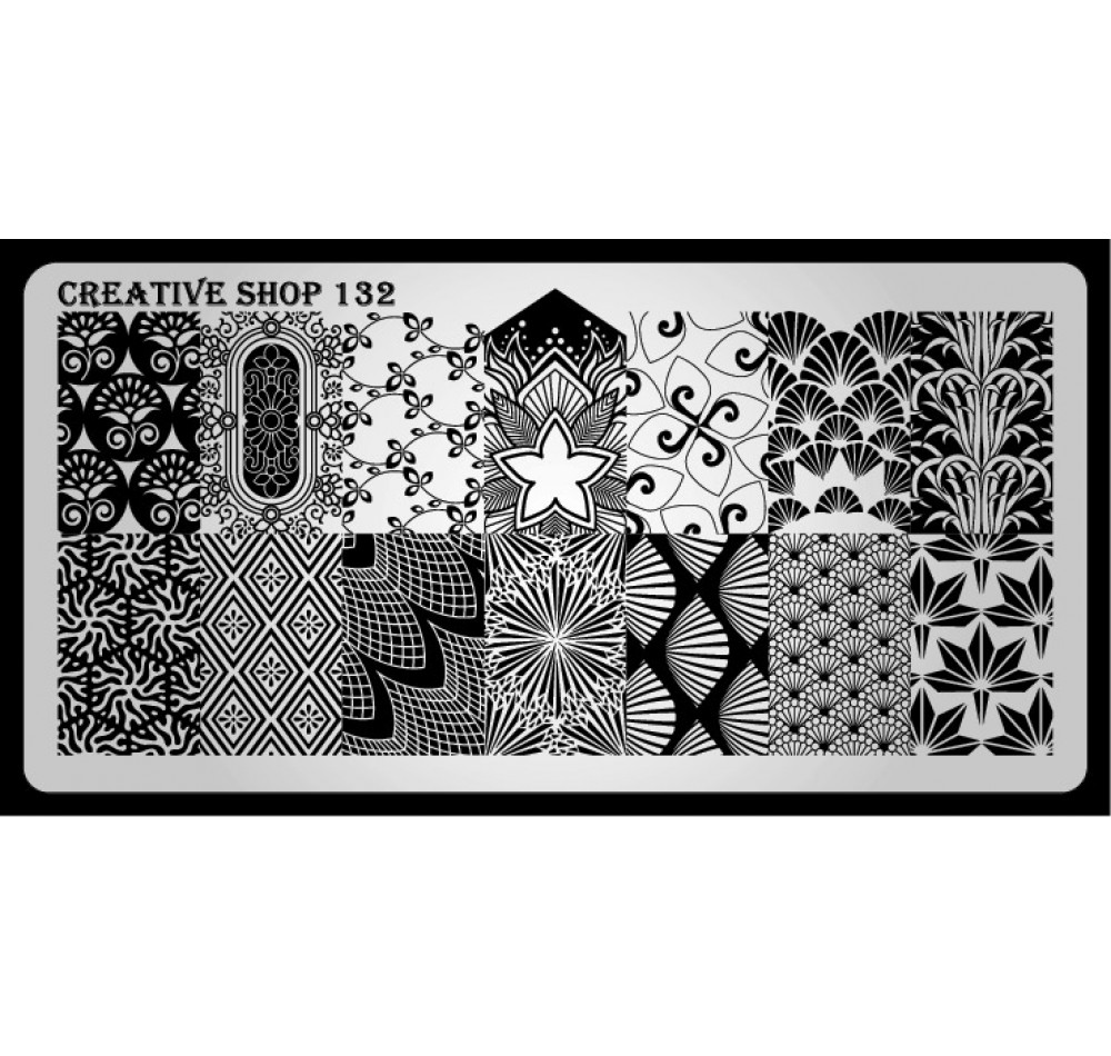 Пластина для стемпинга Creative Shop 132