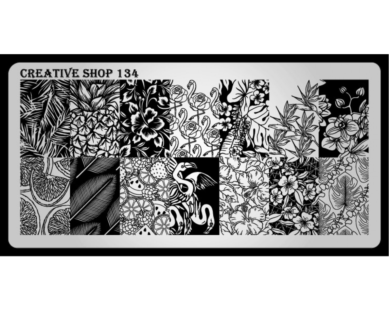 Пластина для стемпинга Creative Shop 134