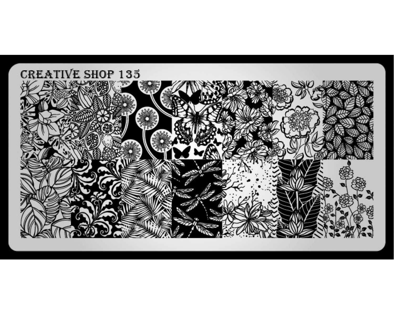 Пластина для стемпинга Creative Shop 135