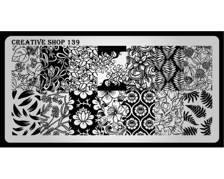 Пластина для стемпинга Creative Shop 139