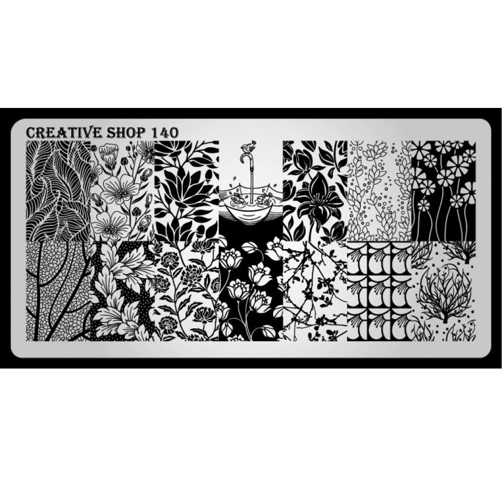 Пластина для стемпинга Creative Shop 140
