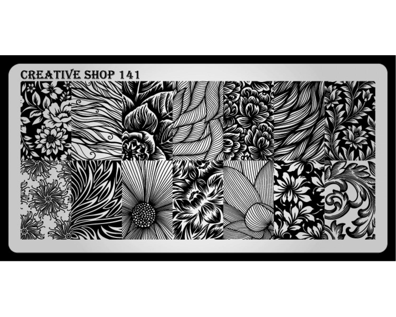Пластина для стемпинга Creative Shop 141