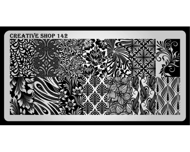 Пластина для стемпинга Creative Shop 142