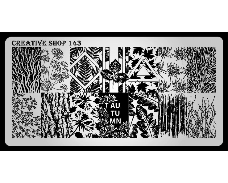 Пластина для стемпинга Creative Shop 143