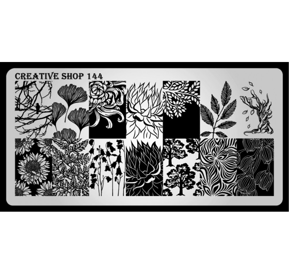Пластина для стемпинга Creative Shop 144