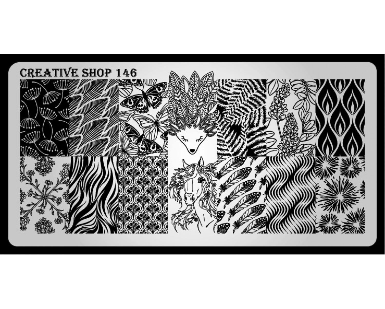 Пластина для стемпинга Creative Shop 146
