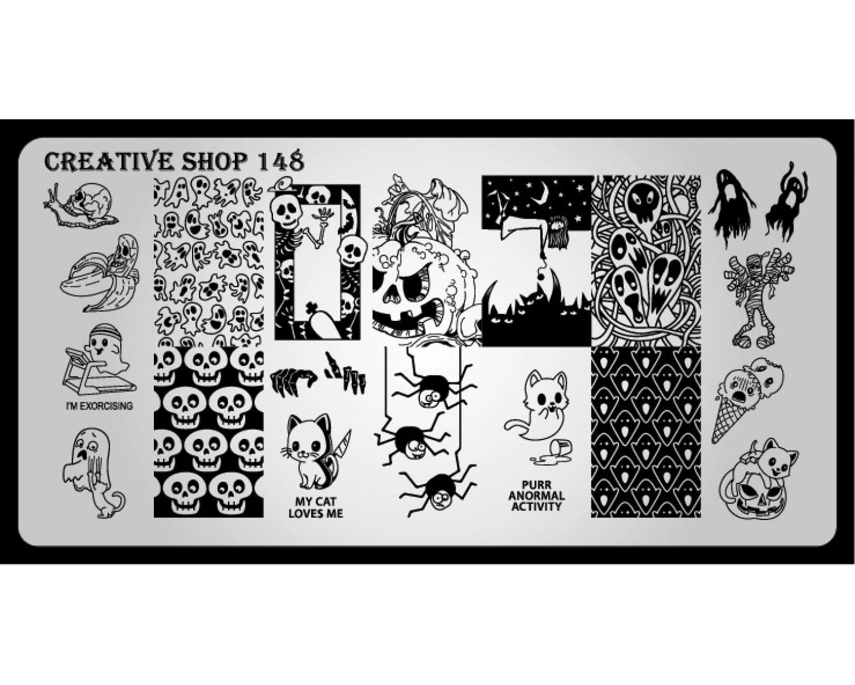 Пластина для стемпинга Creative Shop 148
