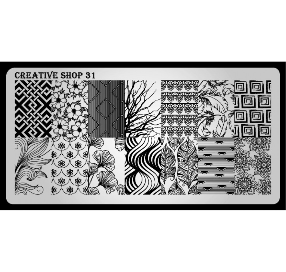 Пластина для стемпинга Creative Shop 31