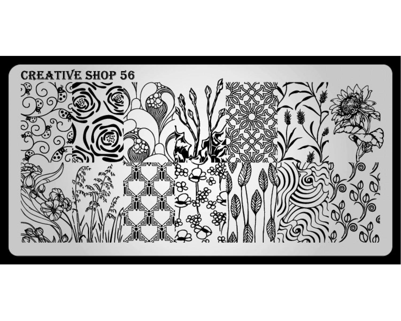 Пластина для стемпинга Creative Shop 56