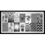 Пластина для стемпинга Creative Shop 58