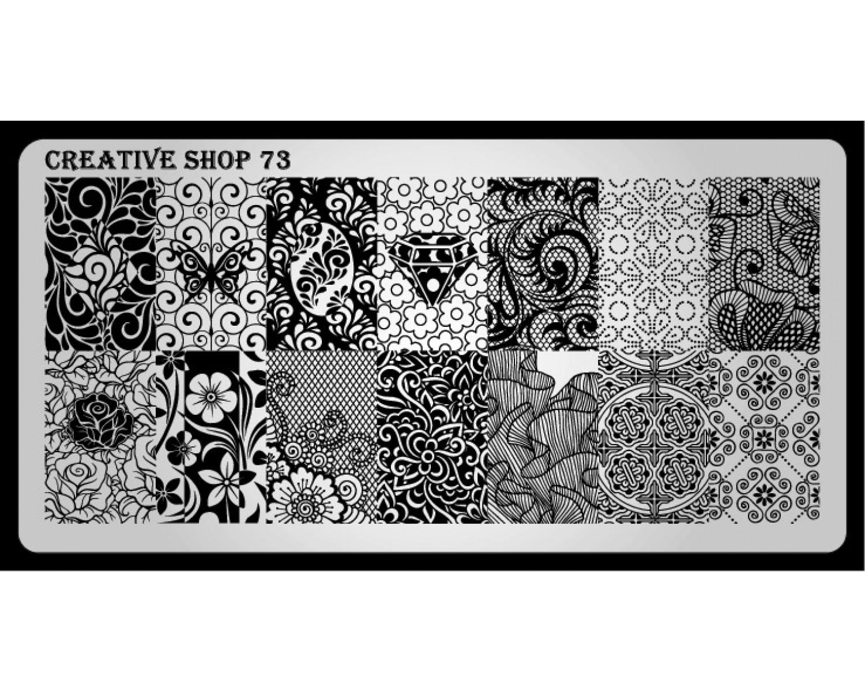 Пластина для стемпинга Creative Shop 73