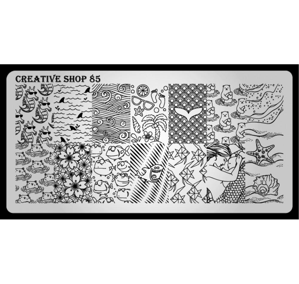 Пластина для стемпинга Creative Shop 85