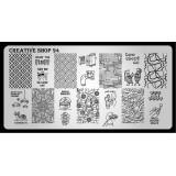 Пластина для стемпинга Creative Shop 94