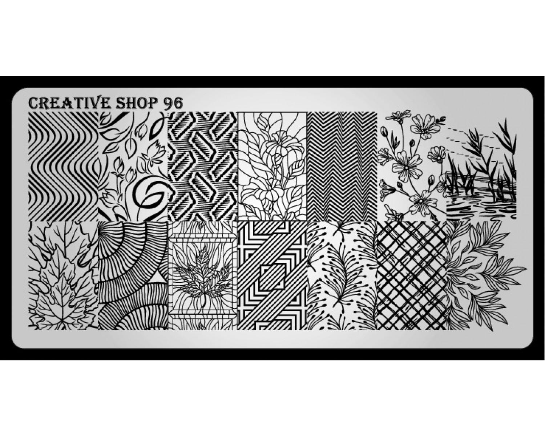 Пластина для стемпинга Creative Shop 96