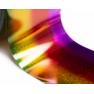 Фольга Lesly - голографический градиент yellow-red-lilac