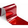Фольга Lesly - красная голография