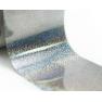 Фольга Lesly - серебряная голография