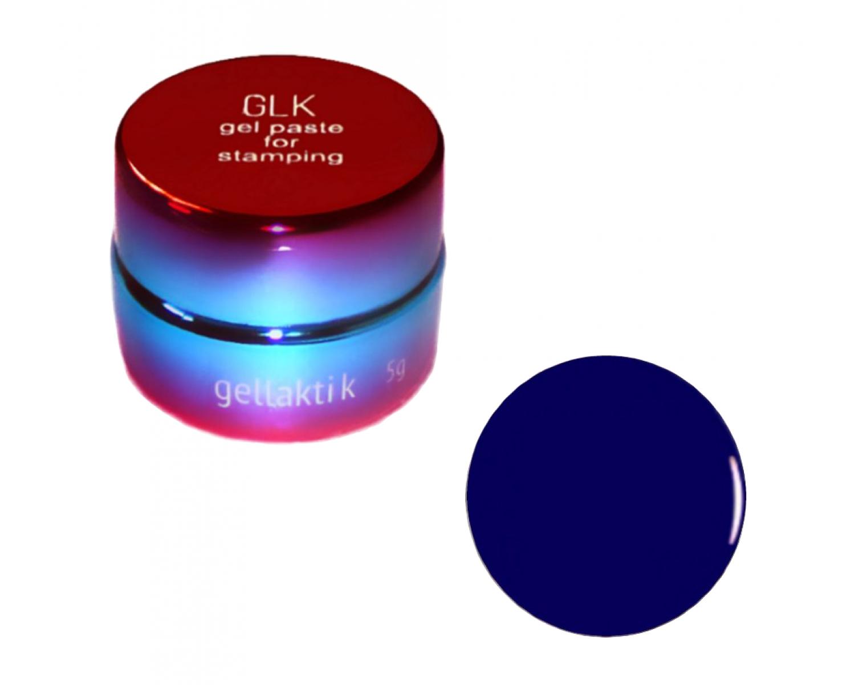 Гель-паста для стемпинга Gellaktik - синяя