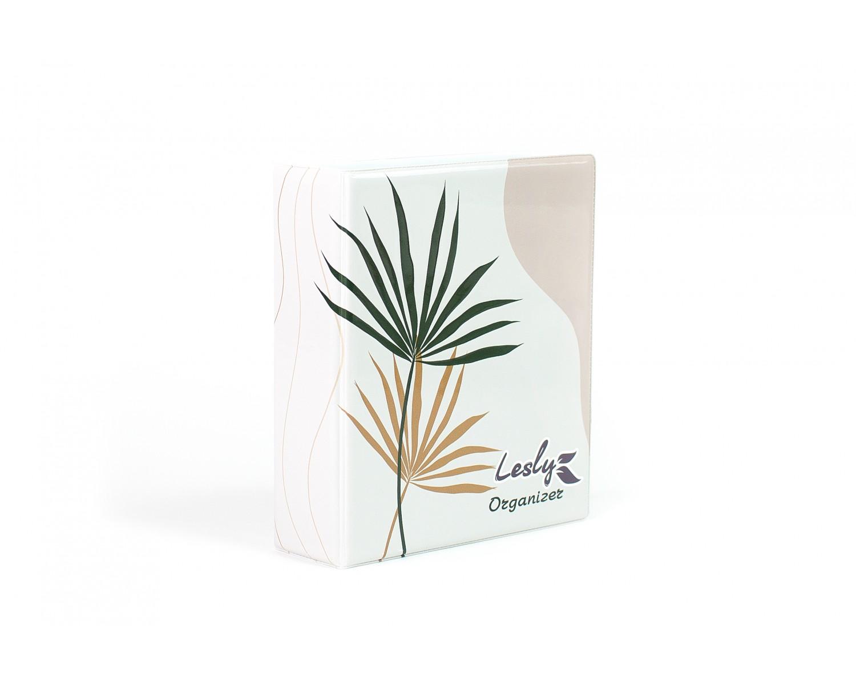 Купить Lesly Органайзер для средних пластин - ботаника