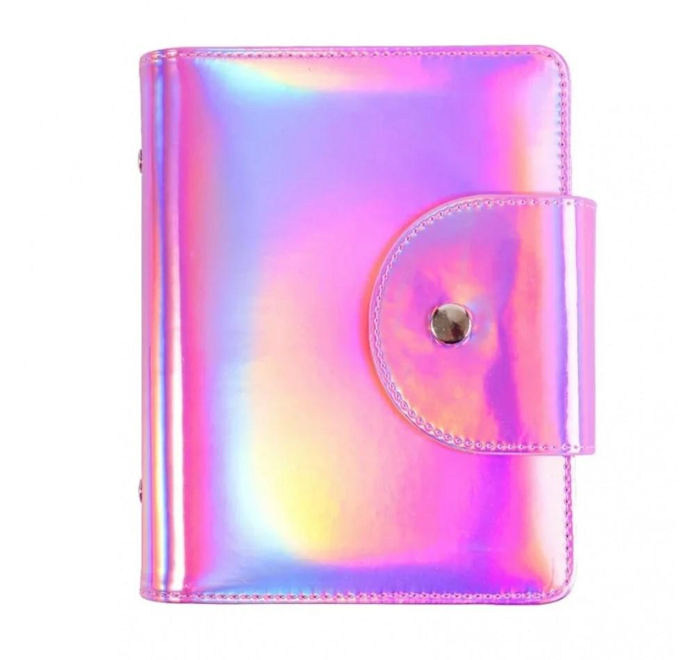 Холдер для пластин - розовая призма