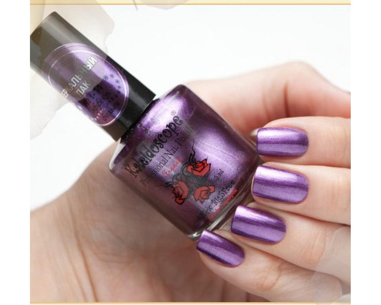 Зеркальный лак Kaleidoscope - фиолетовый