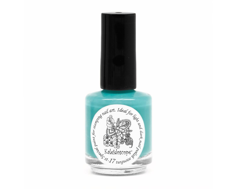 Лак для стемпинга Kaleidoscope - turquoise Fluo
