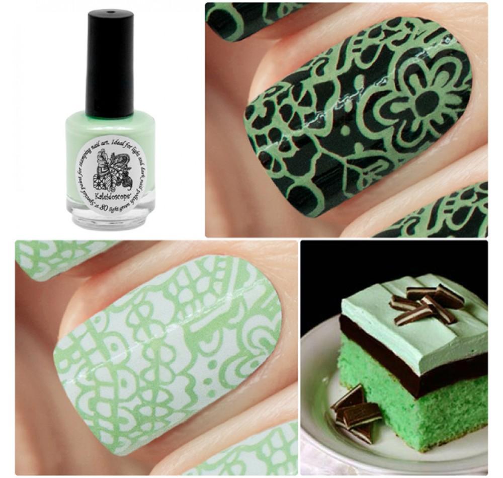 Лак для стемпинга Kaleidoscope - light green Fluo