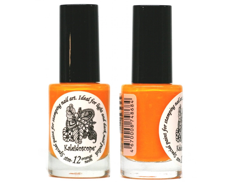 Лак для стемпинга - мини Kaleidoscope - orange neon