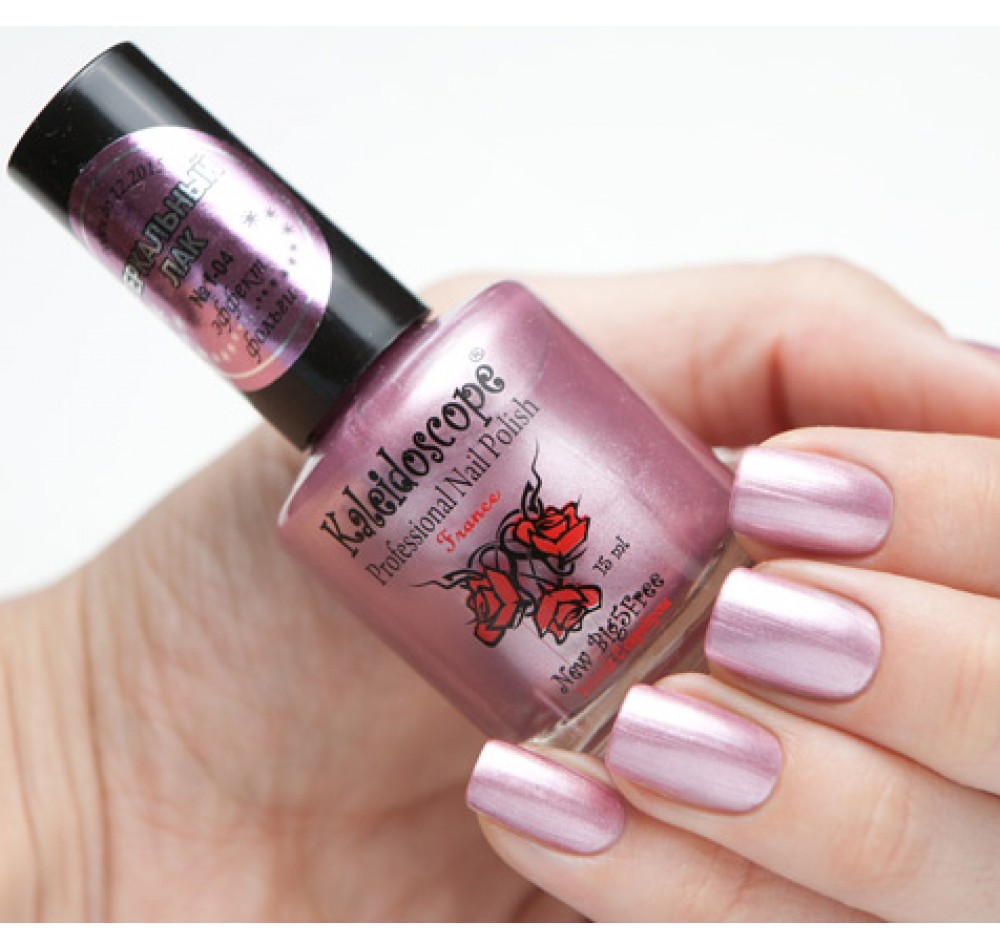 Зеркальный лак Kaleidoscope - светло-розовый