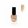 Лак для стемпинга Lesly - Shimmer Gold #4