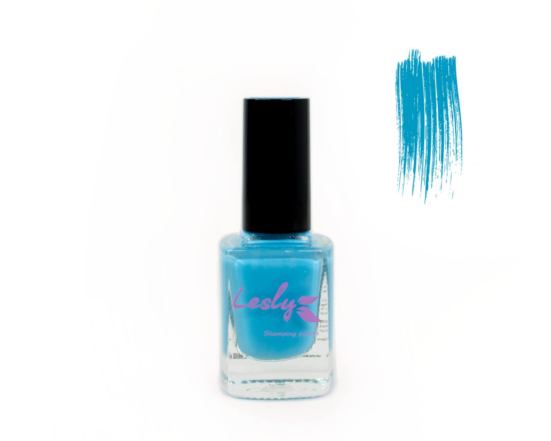 Лак для стемпинга Lesly - Baby Blue #27