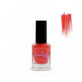 Лак для стемпинга Lesly - Hot Coral #35