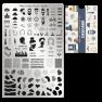 Пластина для стемпинга Moyra - Designer