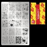 Пластина для стемпинга Moyra - Florality 1