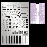 Пластина для стемпинга Moyra - Cuts 2