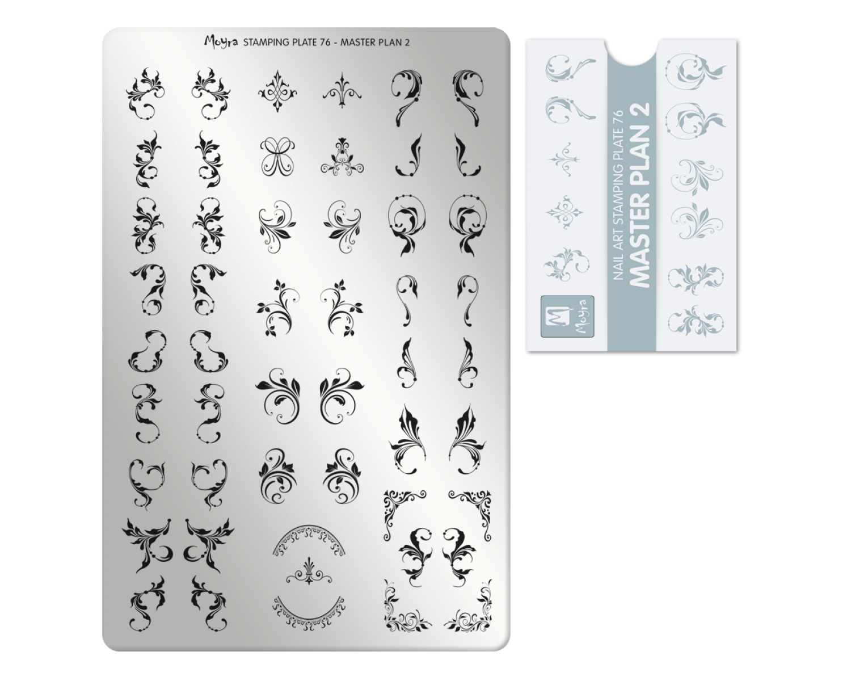 Пластина для стемпинга Moyra - Master Plan 2