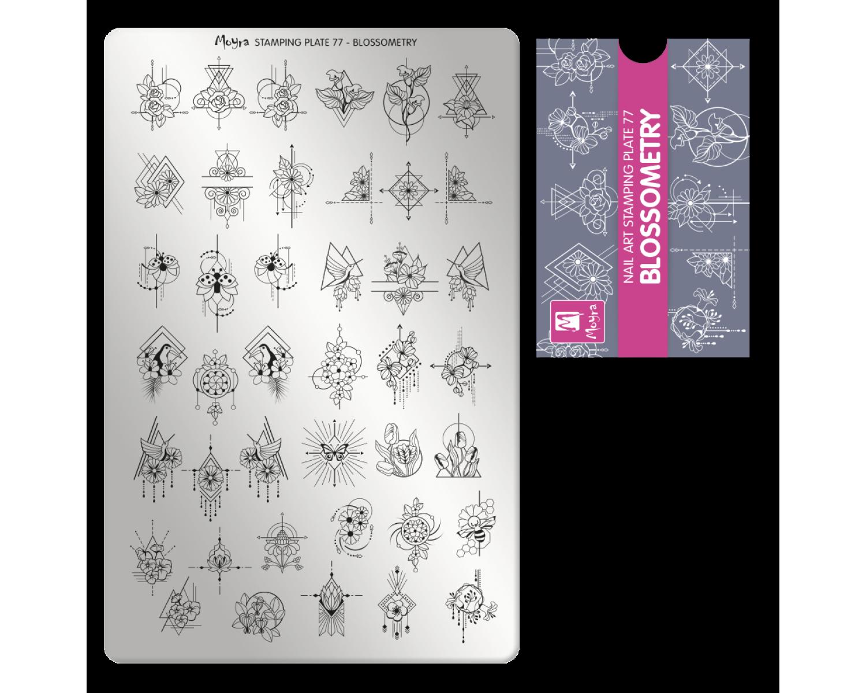 Пластина для стемпинга Moyra - Blossometry