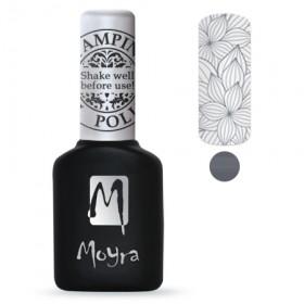 Гель-лак для стемпинга Moyra - Grey