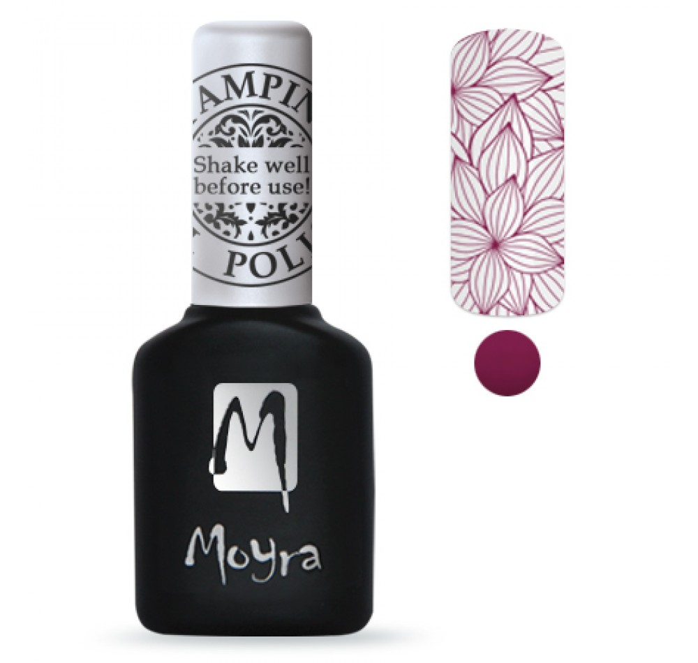 Гель-лак для стемпинга Moyra - Berry