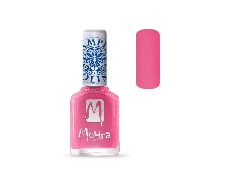 Лак для стемпинга Moyra - Pink