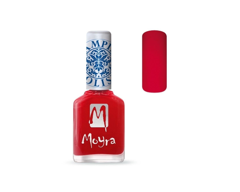 Лак для стемпинга Moyra - Red